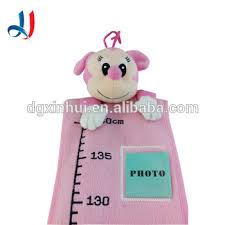 Wholesale Cartoon Animal Customized Children Height Measure Kids Growth Chart Ruler With Baby Photo For Home Decoration Buy Children Height