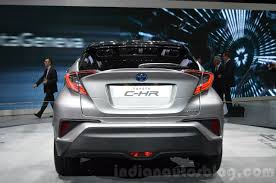 Toyota C-HR compact SUV will launch in Japan in December