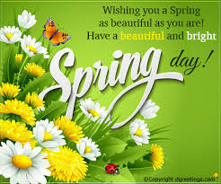 Spring Photo Cards Wishing You A Spring As Beautiful As You Are Spring Cards