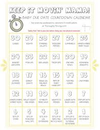 Baby Countdown Calendar Pin On Run And Fit Related