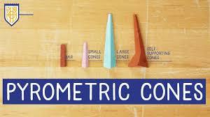 Pottery Cone Chart Ceramic Pyrometric Cones Amaco Classroom Kiln Basics