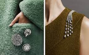 Pin points: brooches take a stand ...