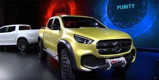 2018 Mercedes-Benz X-Class pickup truck features and release