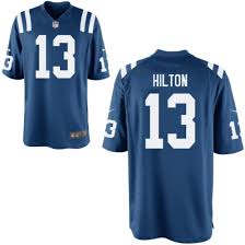 No Hilton - Indianapolis Nike y T Jersey 13 Game Colts Royal|Robinson Athletic News