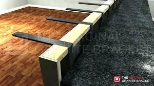 corbels to support granite countertop island countertop brackets island support bracket installed corbels to support granite countertop