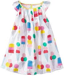 VIKITA 2018 Toddler Girls Summer Dresses Short ... - Amazon.com