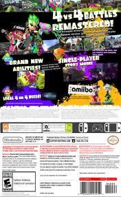 Splatoon 2 Brand Chart Splatoon 2 For Nintendo Switch Summary Story Characters