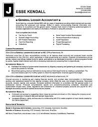 general ledger accounting resume sample accountant and letter writing  example