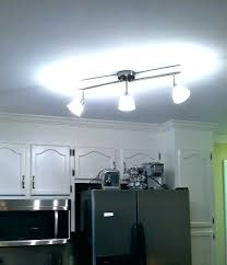 replace track lighting led light cob rail lights spotlight install ceiling fan