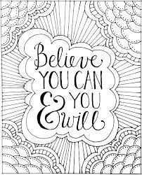 Free Printable Inspirational Coloring Pages Printable Inspirational