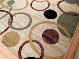 fleur de lis round area rug designs