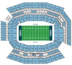 Philadelphia Eagles Seating Chart Philadelphia Eagles Tickets 2016 Preferred Seats
