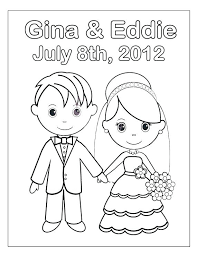 Free Personalized Coloring Pages For Adults Free Printable Wedding