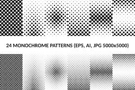 Dot Patterns Inspiration 48 Dot Patterns AI EPS JPG 48x48 Design Bundles