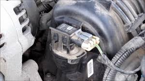 Chevrolet Cavalier Questions - Where is the mass air flow sensor ...