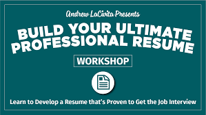 Milewalk Resume Template How To Build The Ultimate Professional Resume By Andrew LaCivita 1