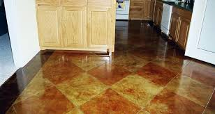 diy stained concrete floors indoor diy do it your self cement floors in homes