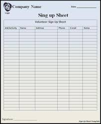 notes sheet template signup sheet template free word templates