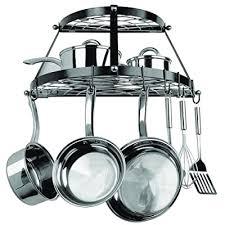 cw6002 2 shelf wall mounted pot rack