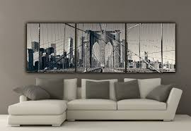 new york brooklyn inspirational canvas wall  on black white blue wall art with wall decoration canvas wall decor wall decoration and wall art ideas