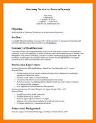 Veterinary Technician Resume Examples Of Resumes Ophthalmic