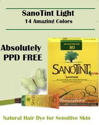 Sanotint The Best Natural Hair Dye Ppd Free No Ammonia
