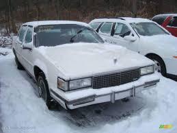 1988 White Cadillac DeVille Sedan #24387872 | GTCarLot.com - Car ...