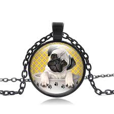 whole bago dog necklace american pitbull terrier pet puppy rescue pendant bulldog jewelry for animal lover accessories love necklace diamond heart