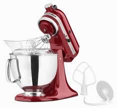 kitchenaid artisan stand mixer. kitchenaid artisan series 5-quart stand mixer 5ksm150 (empire red) kitchenaid 7