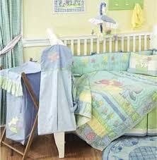 baby elephant 4 piece crib bedding set by california kids