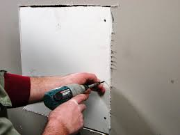 there s no simple solution to patching drywall