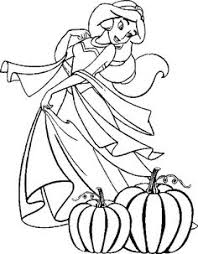 Small Picture Halloween Coloring Pages Princess Coloring Pages