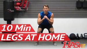 hasfit 10 minute leg workout exercises best legs exercises at home at home leg workout men women you