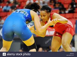 U.S. Army World Class Athlete Program wrestler Sgt. Iris Smith Stock Photo  - Alamy