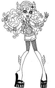Small Picture Lagoona Blue Feel Sleepy Coloring Page Monster High Coloring