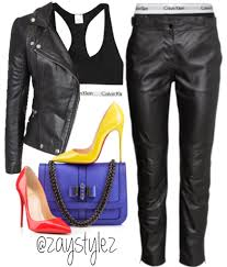calvin klein sports bra long johsn h m leather trrousers muubaa leather biker jacket so kate louboutin fashion daily