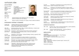 Resume In English Examples cv in english examples free Delliberiberico 7