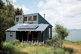 Image result for circular roof corrugated iron tiny house