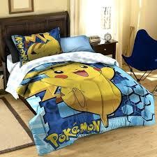 pokemon twin bed set bedroom bedding