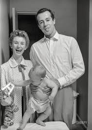 Cloris Leachman George Englund with their child Adam