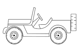Small Picture Free Jeep Coloring Pages To Print