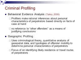 simon fraser university psyc professor ronald roesch ppt 29 criminal profiling behavioral