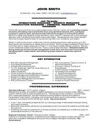 Automotive Manufacturing Manager Resume Production Sample Resume