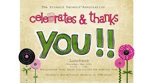 Thank You Flyer Template Free Volunteer Appreciation Invitation