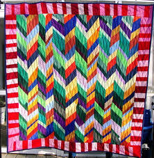 627 best Chevron / Braided / Herringbone Quilts images on ... & Score For Strings Test Quilt Gallery | daintytime ~ Sherri Lynn Wood Adamdwight.com