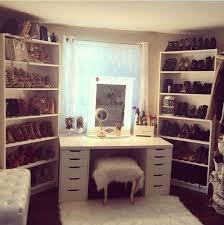 closet vanity ideas interior