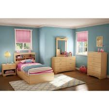 Natural Maple Bedroom Furniture South Shore Urben Natural Maple Twin Headboard 3113098 The Home