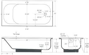 standard bathtub size bathroom charming tub dimensions in a and lovely average soaker hot g typical bathtub size average tub of shower