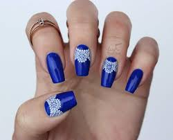 ABC Challenge: B is for Blue | Nail Art Challenge - Lucy's Stash