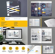 40 Annual Report Templates With Awesome InDesign Layouts Adorable Annual Report Template Design